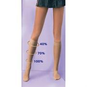 ERGOFORMA Гольфы антиварикозные профилактические, 15-18 мм рт.ст., цвет: коричневый, телесный, черный