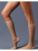 ERGOFORMA Гольфы антиварикозные (2 класс компрессии), 23-32 мм рт.ст., цвет: коричневый, телесный, черный